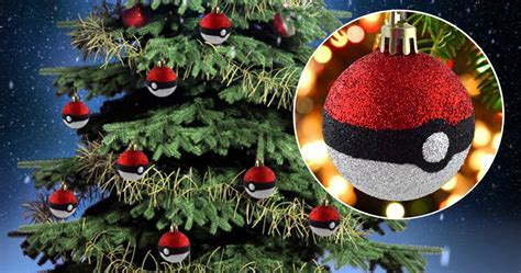 Pokeball Christmas Tree Ornaments   Shut Up And Take My Yen