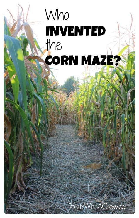 corn history the history of corn mazes points with a crew