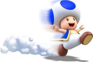 Blue Toad Super Mario 3D World