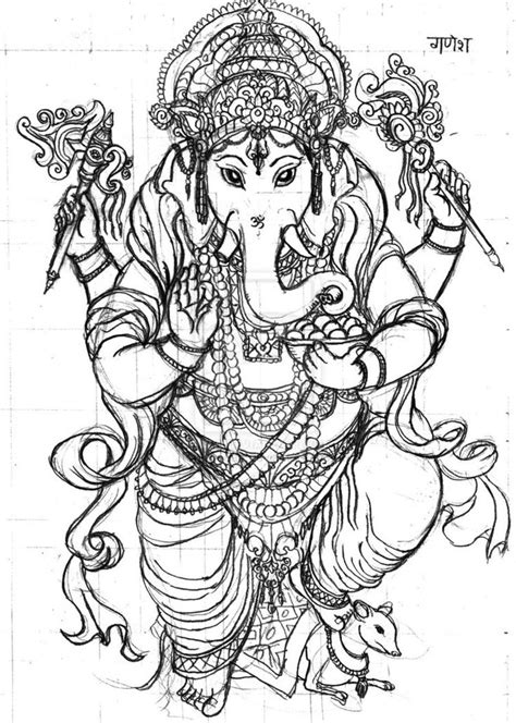 74 best images about GANESHA ART on Pinterest | Spirituality, Diwali cards and Coloring pages