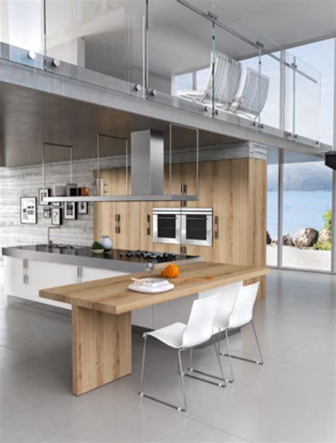 cuisine design bois cuisine blanche et bois design wraste com