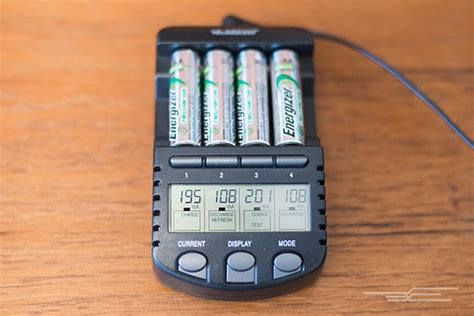 rechargeable battery charger  aa  aaa