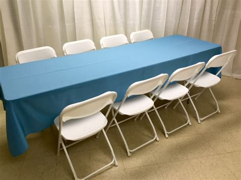 table 8 foot banquet rentals lansing mi where to rent
