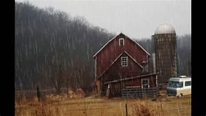 Rain On Barn Ambience  White Noise
