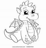 Coloring Cartoon Dragon Royalty Football Drawing Vector Dame Notre Cars Illustration Adult Line Shutterstock Getcolorings Printable Mater sketch template