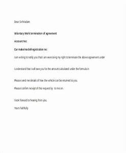 Free Sample Letter Of Termination Of Employment Contract Free 60 Termination Letter Examples Samples In Pdf