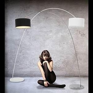 Stehlampe Retro Design : design bogenlampe stehlampe schwanenhals lampe mit dimmer schwarz ~ Sanjose-hotels-ca.com Haus und Dekorationen