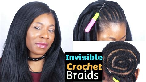 Crochet Braids Straight Hair With Invisible
