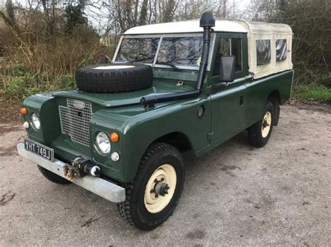 1970 series land rover 109 200tdi for sale car and classic