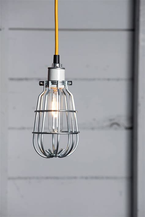 cage light pendant industrial cage l