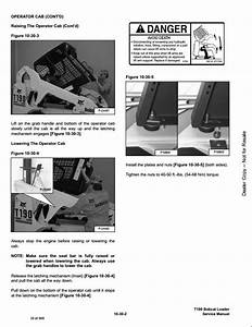 2006 Bobcat T190 Turbo High Flow Track Loader Service