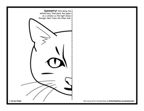 symmetry art activity   coloring pages art  kids
