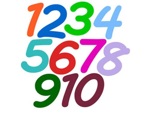 number   clipart clipground