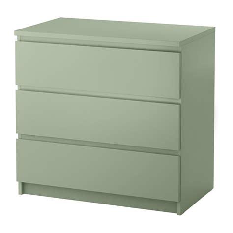 ikea commode chambre malm commode 3 tiroirs vert clair ikea