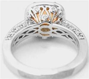 cushion cut citrine and diamond halo engagement ring and With citrine wedding ring