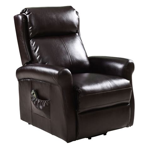 brown electric lift chair recliner arm chairs recliners