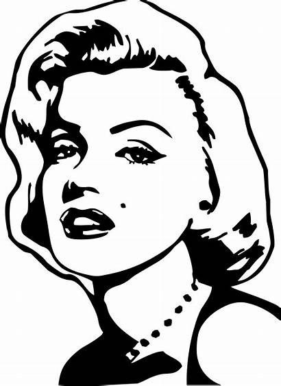 Marilyn Monroe Silhouette Vector Pop Clip Transparent