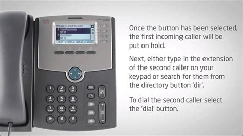 how to a phone cisco ip phone spa504g transferring a call