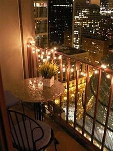 15 small balcony lighting ideas home design and interior for Katzennetz balkon mit solar led garden lights