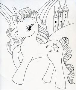 How To Draw A Cartoon Unicorn Step By Step Easy Archives