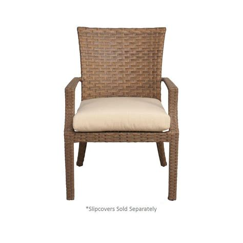 hton bay tobago patio dining chair with cushion insert