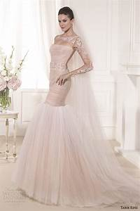 the gallery for gt blush wedding dress with sleeves With long sleeve blush wedding dress