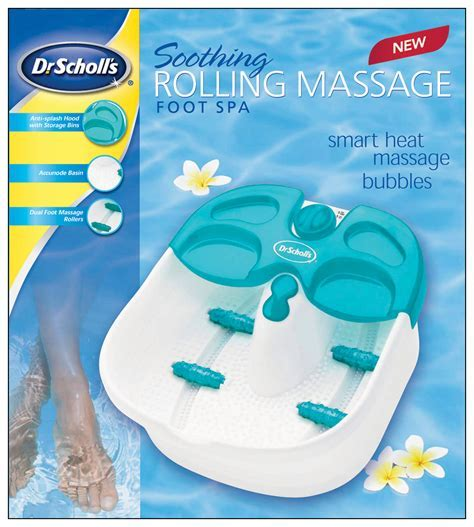 Best Buy: Dr. Scholl's Rolling Massage Foot Spa White