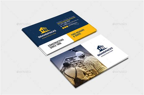 However, many contractors tend to limit their business card designs to classic colors and images that fail to stand out. 20+ Construction Business Card Designs and Examples - PSD, AI | Examples