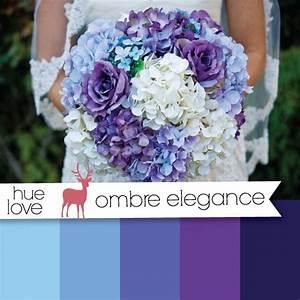 blue and purple ombre wedding bouquet | Bouquet Options ...