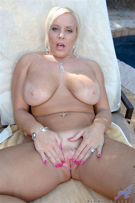 Hot Busty Milf Alexis Golden Shows Her Sexy Body Outdoor My Pornstar Book