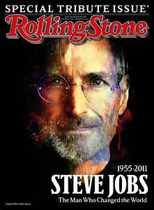 Steve jobs on behance for Rolling stone magazine cover template