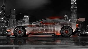 Aston Martin Vulcan Side Crystal City Car 2015 el Tony