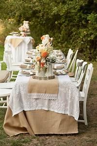 the bridal notebook burlap wedding ideas wedding ideas With burlap and lace wedding ideas