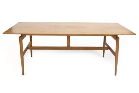 finn juhl library table red modern furniture
