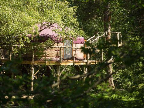 houlet treehouse yurt wild northumbrian