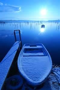 Turquoise Blue Lake Michigan