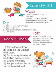 14 Best Images About Teach Kids How To Do Laundry On