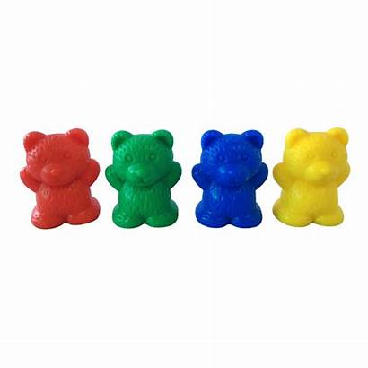 Bear Counters Manipulative Math Toy Colorful Counting