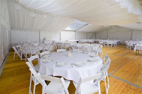 furniture and marquee hire for a commendable corporate event