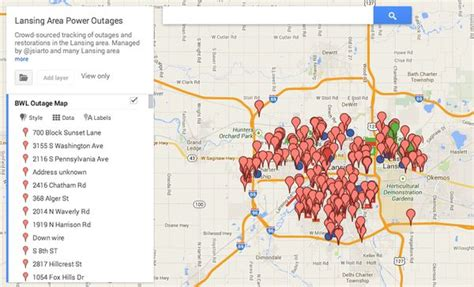 power outage map ideas  pinterest cheap lamps