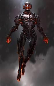 Avengers Age Of Ultron : avengers age of ultron concept art reveals alternate ultron designs ~ Medecine-chirurgie-esthetiques.com Avis de Voitures