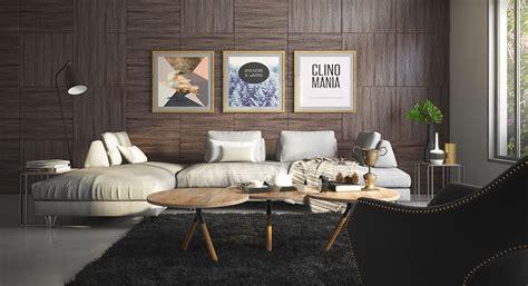 rivestimenti  pareti del soggiorno  idee  design