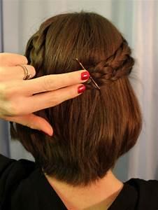 Hochsteckfrisuren Für Kurze Haare : einfache hochsteckfrisuren f r kurze haare ~ Frokenaadalensverden.com Haus und Dekorationen
