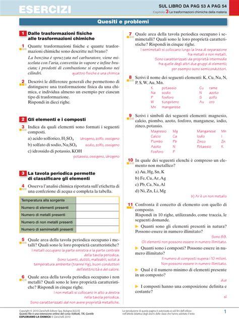 test fisica zanichelli soluzioni capitolo 3 zanichelli per la scuola