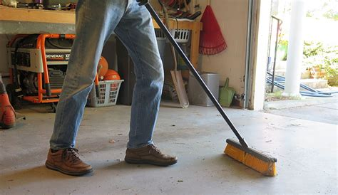 How To Clean Concrete Garage Floors  From Oil Stains To Rust