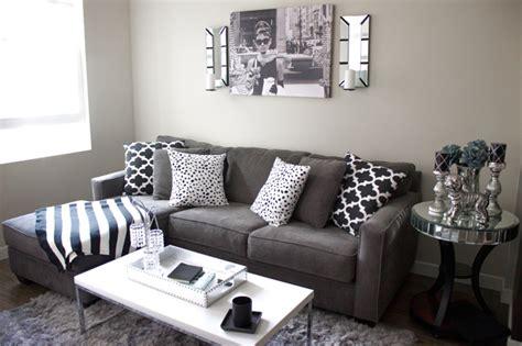 Black And Gray Decor  Home Design