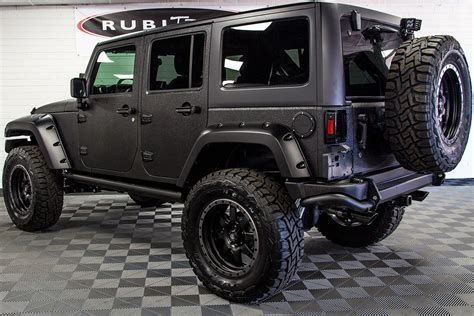 2017 Jeep Wrangler Rubicon Unlimited Black Line-x