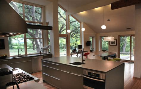 cuisine bauhaus walnut hill residence bulthaup kitchen industriel