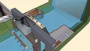 3d Animation Of A Hydroelectric Power Plant