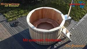 Badezuber Selber Bauen : badezuber badefass badetonne hotub youtube ~ Frokenaadalensverden.com Haus und Dekorationen
